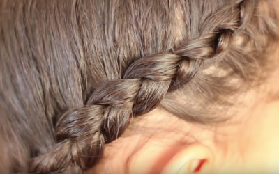 how to easily cornrow or french braid hair