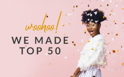 We Made Top 50 on Feedspot!